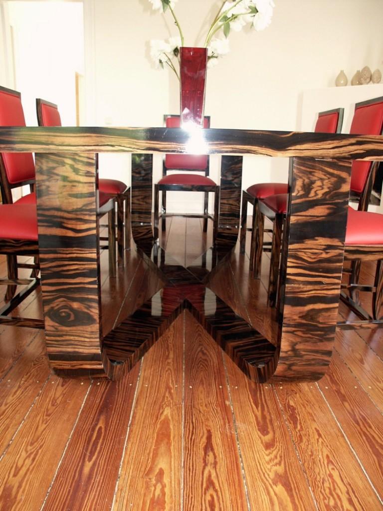 makassar esstisch und st hle m belwerkstatt hamkens. Black Bedroom Furniture Sets. Home Design Ideas